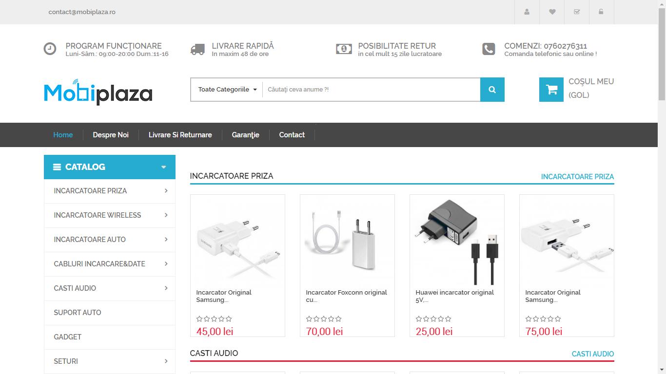 mobiplaza magazin online accesorii PREMIUM pentru telefoane