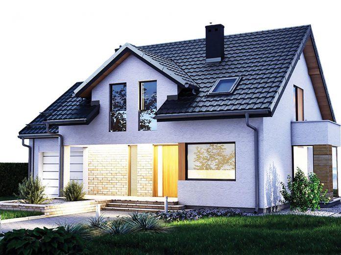 Casa cu tigla metalica