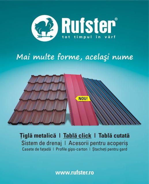 Acoperisuri Rufster